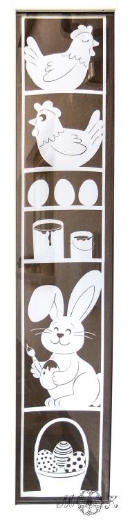 plotte dieses xxl fensterbild als oster deko 2 versionen. Black Bedroom Furniture Sets. Home Design Ideas