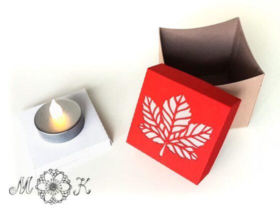 schoki verpackung herbst auch als deko nutzbar. Black Bedroom Furniture Sets. Home Design Ideas