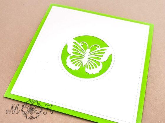 Pop-up-Karte Schmetterling (geschlossen)